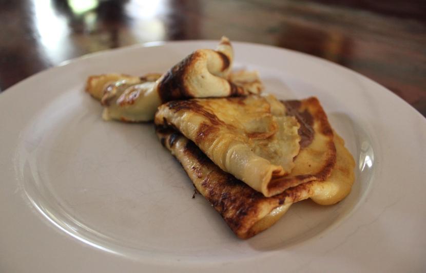 Breakfast   Nutella Crepes