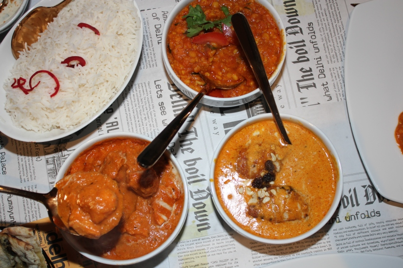 butter chicken, malai kofta and (SOMETHING ELSE).JPG
